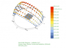 Ladybug solar analysis for Grasshopper