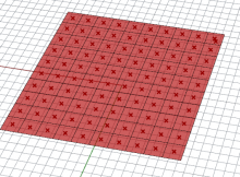 Centrepoints of mesh faces on a mesh in Grasshopper and Rhino