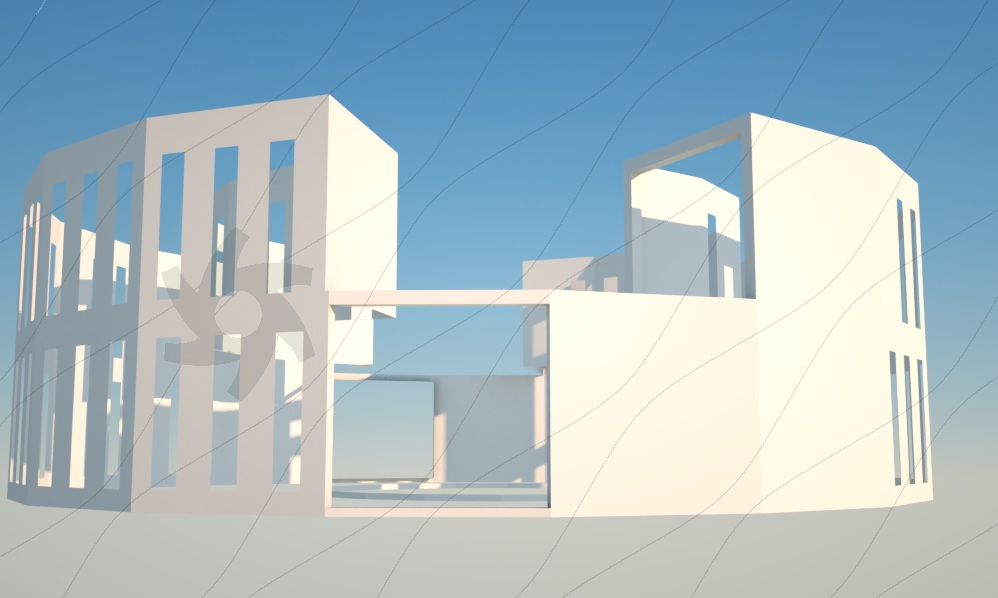 A quick rendering example in Rhino using OctaneRender and out-of-the-box settings
