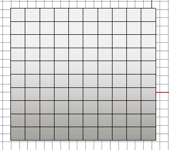Rhino mesh grid