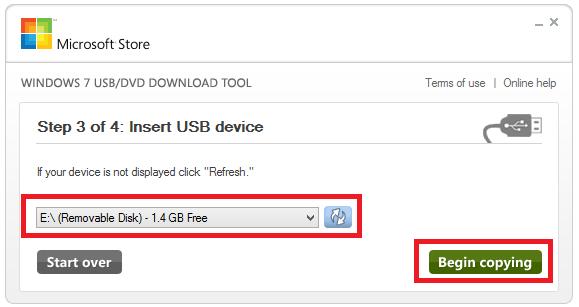 download windows 7 repair usb boot
