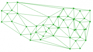 Delaunay mesh in Grasshopper with C#