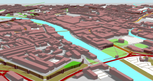 York in Grasshopper with Elk OpenStreetMap data