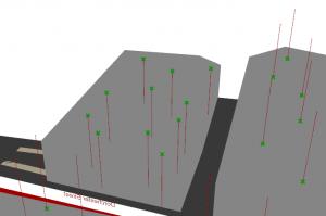 Grasshopper vectors on mesh direction problem