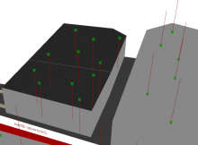 Grasshopper mesh vector orientation problem on buildings