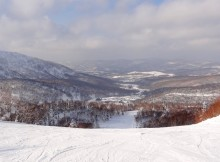 Kiroro ski resort Hokkaido, Yoichi run