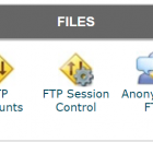 Cpanel file manager menu