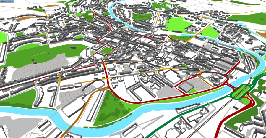 Create cities in Rhino from OSM data with Elk - James Ramsden
